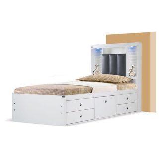 تخت خواب یکنفره آکارس مدل آرام
