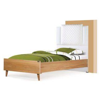 تخت خواب یکنفره آکارس مدل آرسام