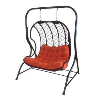 تاب ريلکسي یا صندلي تابي راشا مدل لاک پشتی پایه کنار 2 نفره
