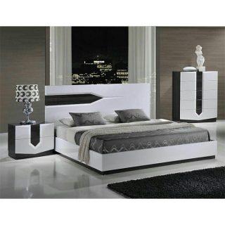 تخت خواب دونفره شیک آکارس مدل 116