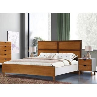 تخت خواب دونفره شیک آکارس مدل آرشا