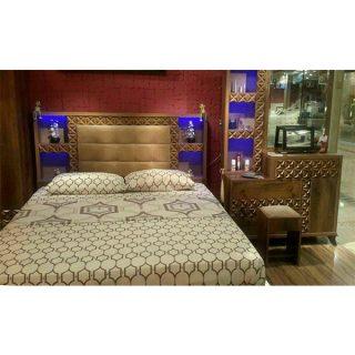 تخت خواب دونفره شیک آکارس مدل 203