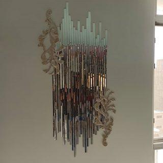 آینه کاری منزل عبداللهی مدل زمرد