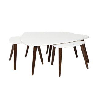 میز جلو مبلی و عسلی طاها مدل پیک