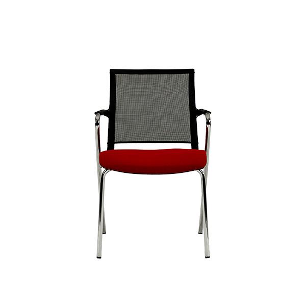 صندلی چهارپایه نیلپر با روکش پلاستیکی