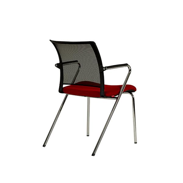 صندلی چهارپایه مشکی