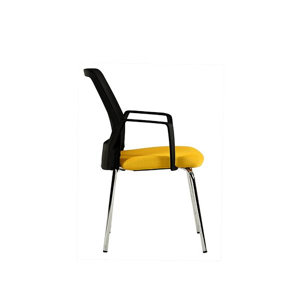 عکس از زاویه کناری صندلی چهارپایه نیلپر مدل OCF 666C