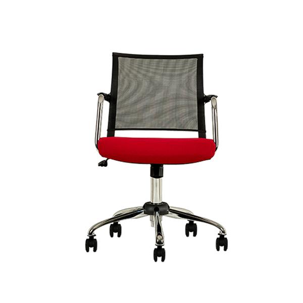 صندلی کارمندی سفید