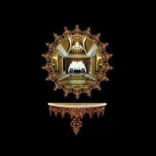 آینه و کنسول آپادانا مدل نیزه ای