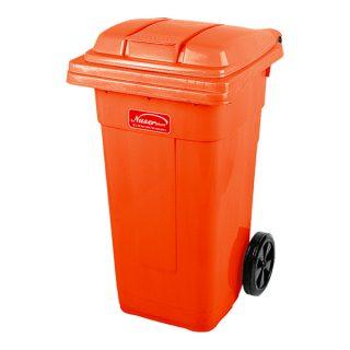 مخزن زباله چرخدار ناصر پلاستیک مدل 5100