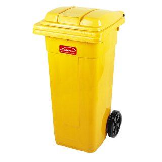مخزن زباله چرخدار ناصر پلاستیک مدل 5120