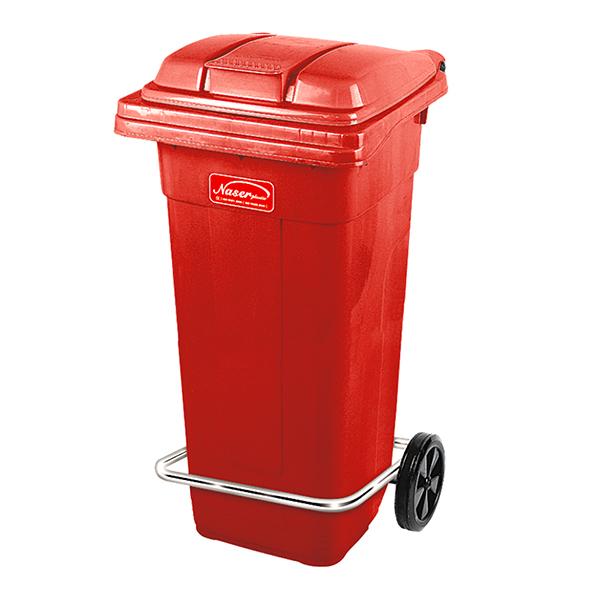 سطل زباله ناصر پلاستیک مدل 5125