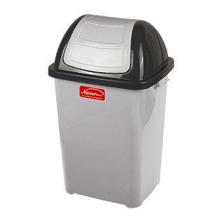 مخزن زباله بادبزنی ناصر پلاستیک مدل 5170