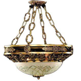 لوستر سقفی آپادانا مدل گرد زنجیره ای