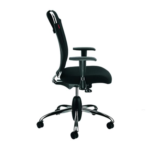 صندلی کارمندی نیلپر مدل OCT 712T با رنگ چرم