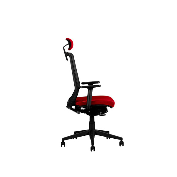 صندلی مشکی مدیریتی نیلپر مدل OCM 850