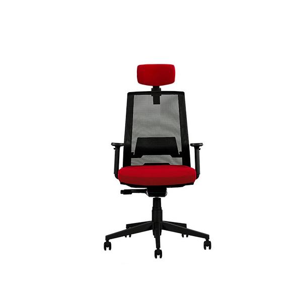 رنگ روشن صندلی مدیریتی نیلپر مدل OCM 850