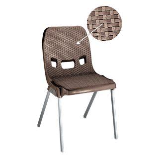 صندلی پایه فلزی ناصر پلاستیک مدل 881