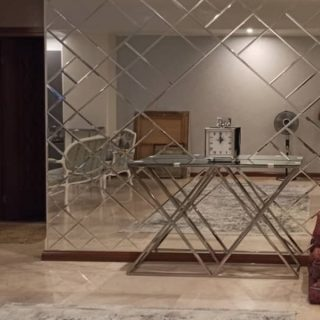 آینه کاری مدرن عبداللهی مدل الماس