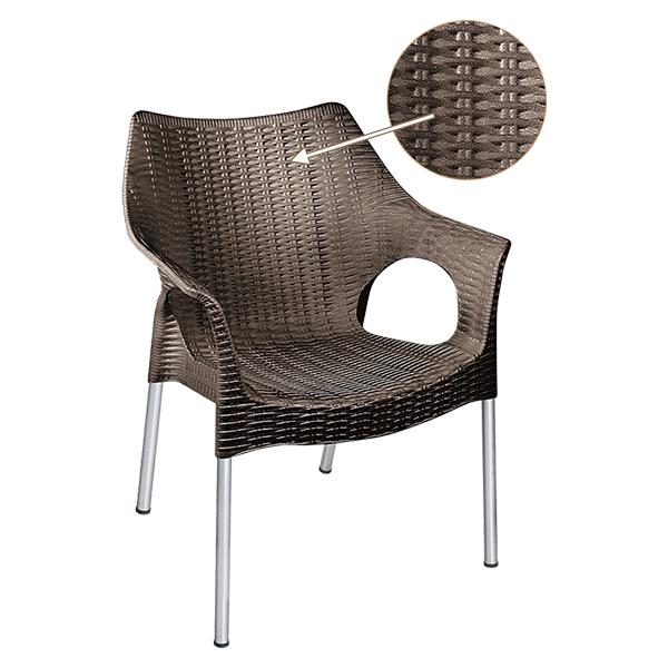 صندلی پلاستیکی پایه فلزی ناصر پلاستیک مدل 991