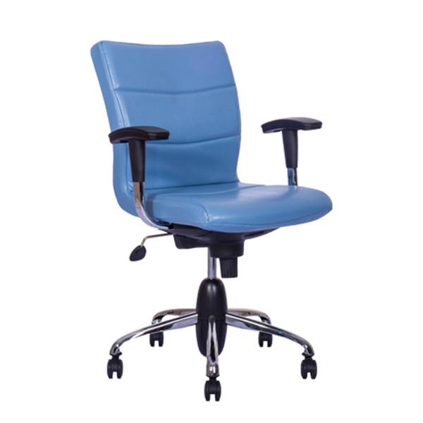 صندلی کارمندی آبی نیلپر