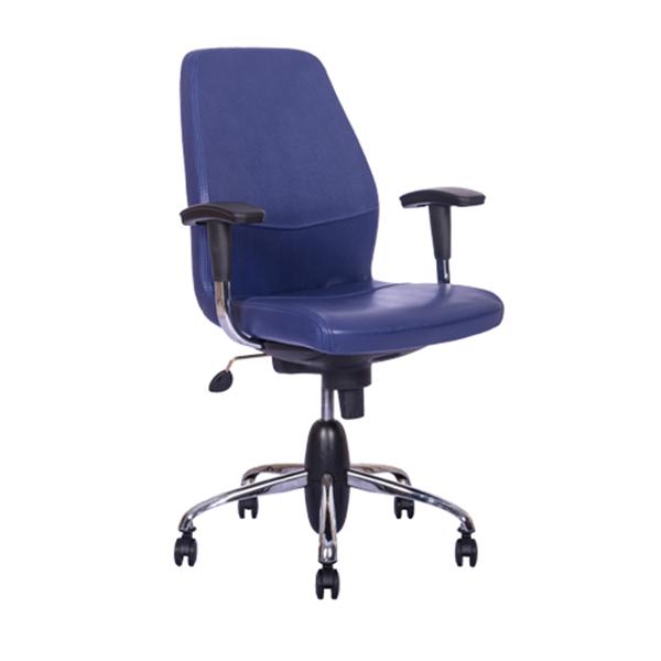 صندلی کارمندی نیلپر مدل OCT 708H با رنگ پارچه
