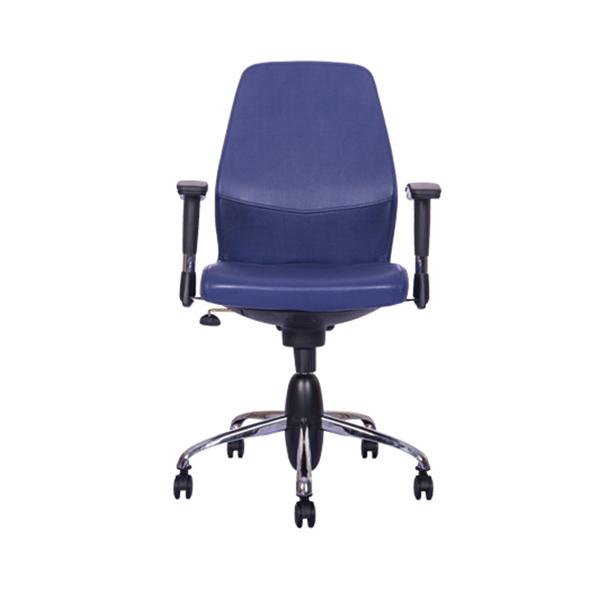 صندلی کارمندی نیلپر مدل OCT 708H با رنگ چرم