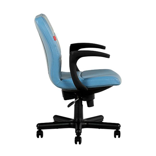 تصویر کناری صندلی کارمندی نیلپر مدل OCT 603BN