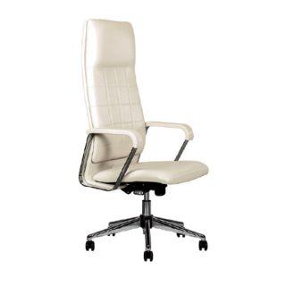 صندلی سفید مدیریتی نیلپر