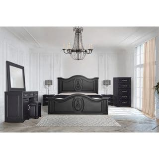 سرویس تخت خواب دونفره شیک کاریان چوب مدل امپریال