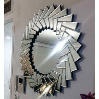 آینه دکوری مدرن پازل مدل A05