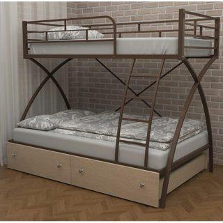 تخت خواب دو طبقه دیاکو صنعت مدل S13