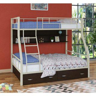 تخت خواب دو طبقه دیاکو صنعت مدل S15