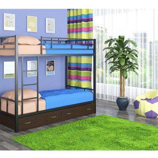 تخت خواب دو طبقه دیاکو صنعت مدل S16
