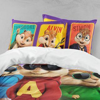 رو تختی اسپرت دستیکور مدل آلوین و سنجاب ها