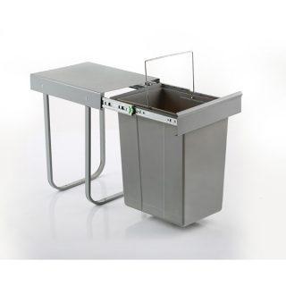 سطل زباله تک مخزن 20 لیتری ثامن صنعت مدل S8010