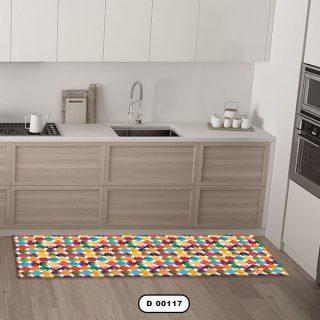 فرش آشپزخانه دستیکور مدل DC006 طرح 117