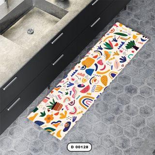 فرش آشپزخانه دستیکور مدل DC006 طرح 128