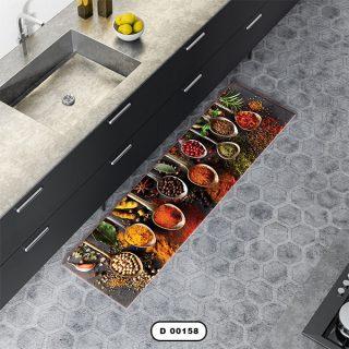 فرش آشپزخانه دستیکور مدل DC0011 طرح 158