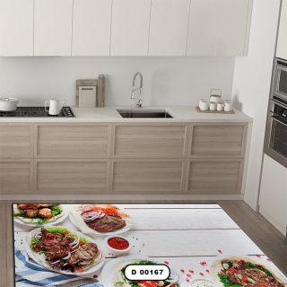 فرش آشپزخانه دستیکور مدل DC006 طرح 167