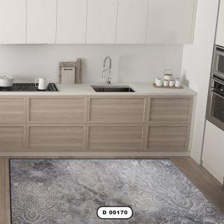فرش فانتزی آشپزخانه دستیکور مدل DC0018