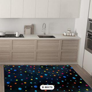 فرش آشپزخانه دستیکور مدل DC006 طرح 173