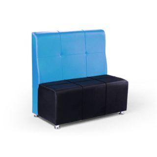 کاناپه جهانتاب مدل الویت کاناپه مدرن دو رنگ
