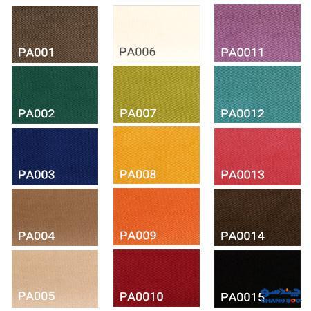 رنگبندی متنوع پارچه
