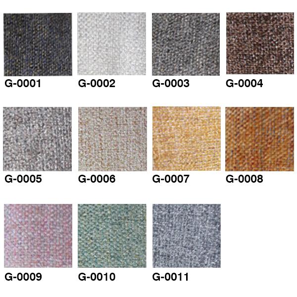 پالت رنگ های متنوع پارچه گونی بافت
