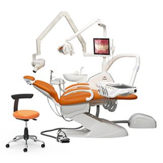 صندلی و يونيت دندانپزشكي دنتوس مدل EXTRA 3006 C