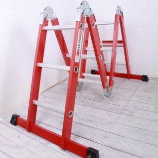 نردبان فراز پله مدل چندکاره قفل دار