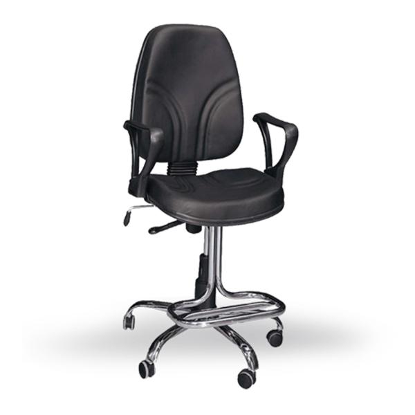 صندلی اداره و صندلی کارمندی نوین سیستم مدل رکابدار RL150