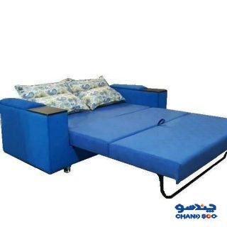 کاناپه تختخواب شو حسنی مدل دسته دار