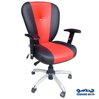 صندلی اداری و صندلی کارمندی لیزن کالا مدل دو رنگ